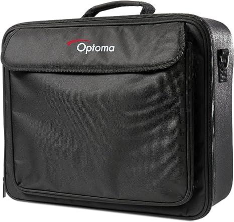 Optoma Carry Bag L Estuche de proyector Negro - Funda (400 x 140 x ...