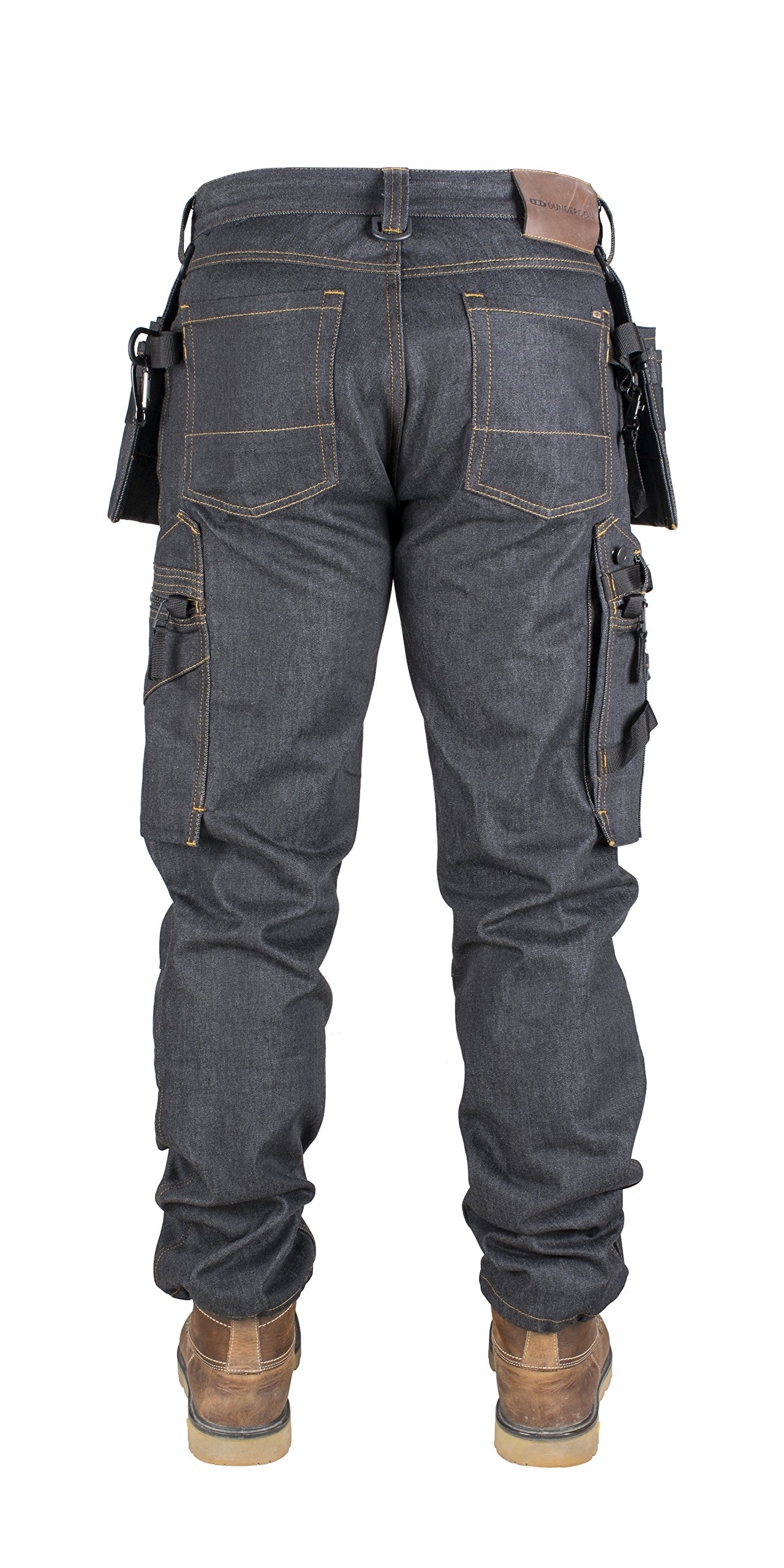 Snickers DW10152710003432''P15'' Trousers, W34/L32, Denim/Black by Snickers (Image #2)