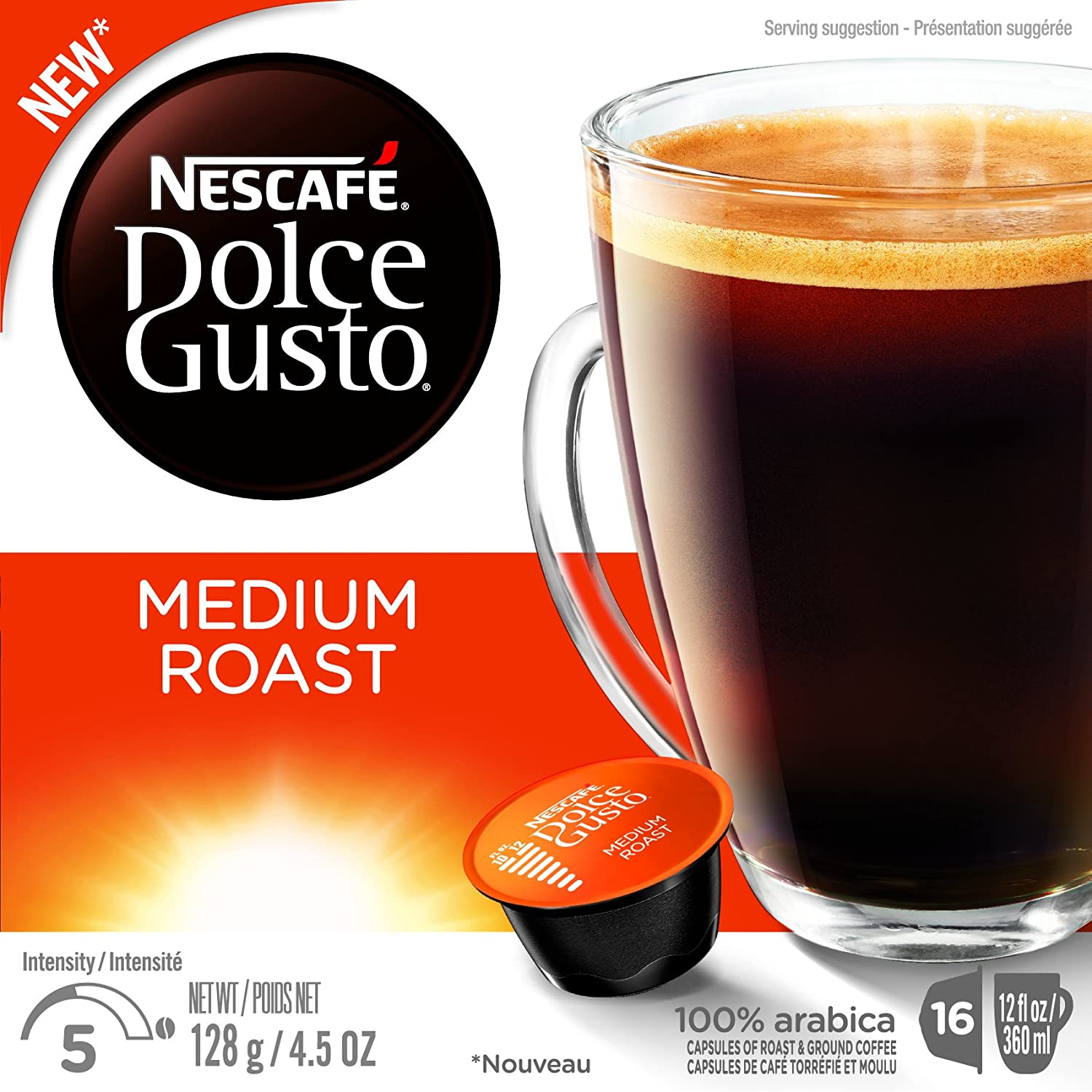 Amazon.com : Nescafe Dolce Gusto for Nescafe Dolce Gusto Brewers, Caramel Latte Macchiato, 16 Count : Coffee Brewing Machine Capsules : Grocery & Gourmet ...