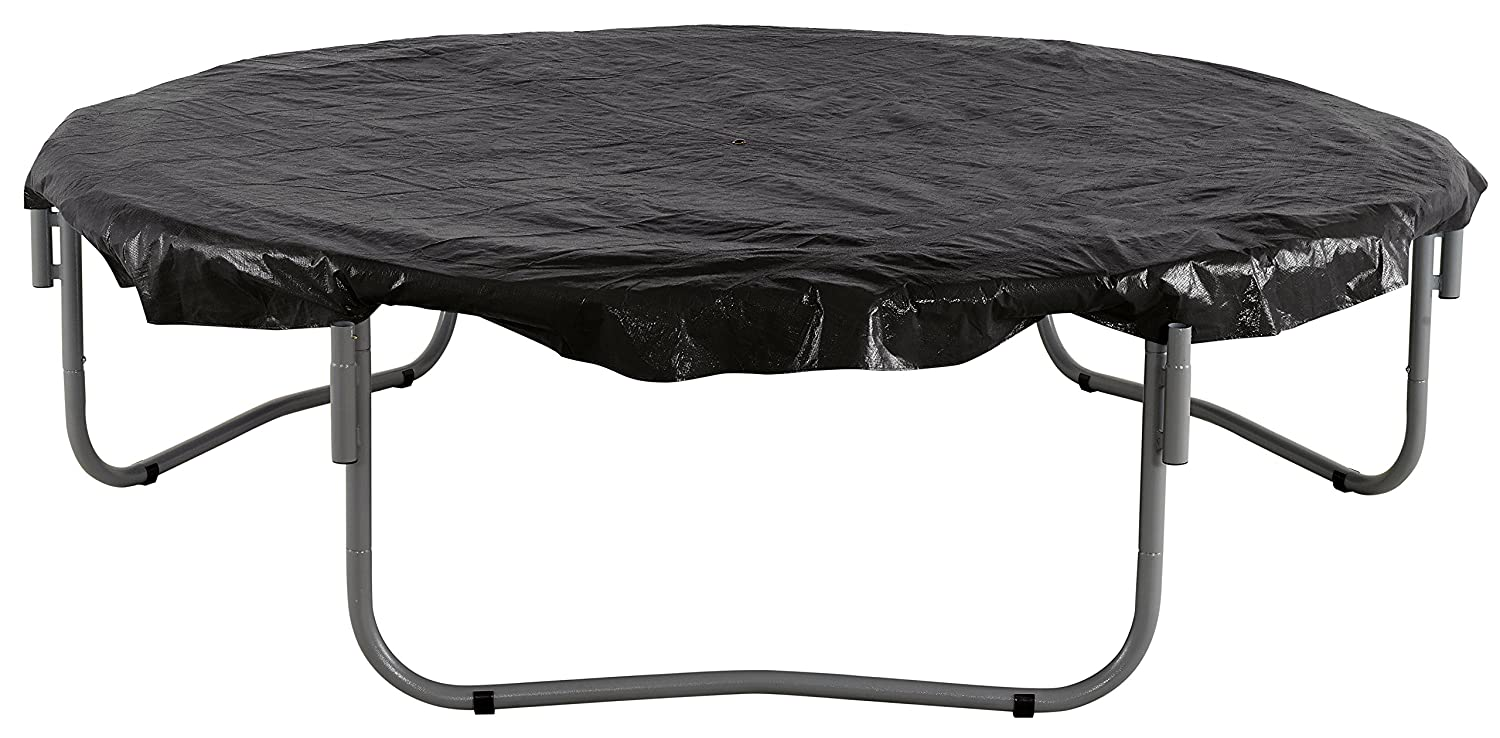 Upper Bounce 13 Trampoline Protection Cover Weather /& Rain Cover Black Fits for 13 FT Round Trampoline Frames