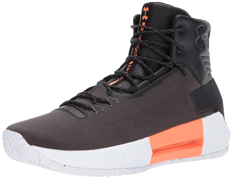 Under Armour Men's Drive 4 Premium Basketball Shoe B01NCLL432 11.5 M US Black (001)/Black