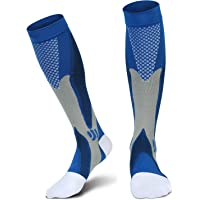 Relax Artist Unisex Graduated Compression Socks (Blue or Black)