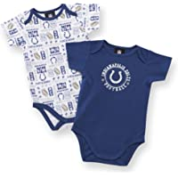 Gerber NFL Indianapolis Colts Two Pack Short Sleeve Bodysuit, Boys