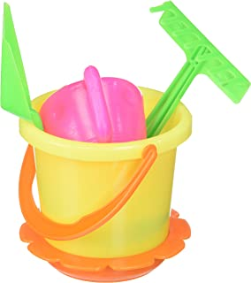 McToy Educational Products - 6 Piece Sandbox Beach Set - Bucket, Shovel & more.