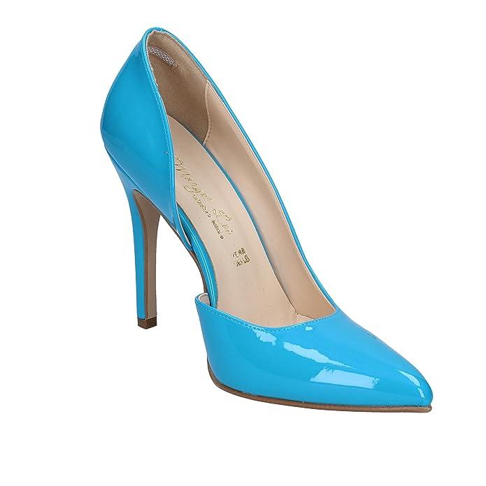 b4fe52d6fff2 MARGOT LOI Pumps-Shoes Womens Turquoise  Amazon.co.uk  Shoes   Bags