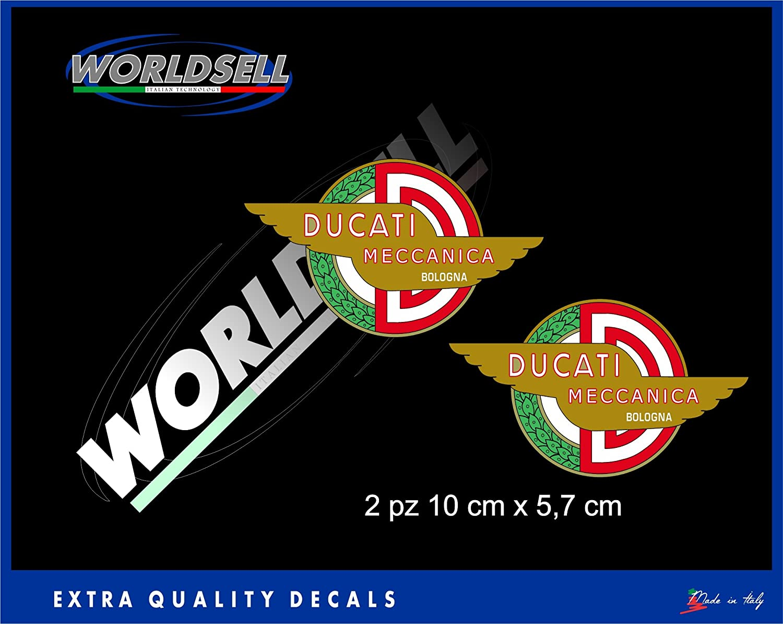 Aufkleber Aufkleber Alte mechanische DUCATI CORSE DESMO CAFE RACER PASO POUL SMART WORLDSELL