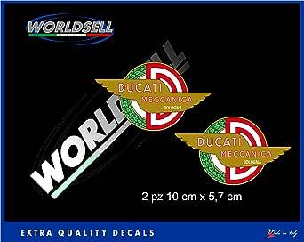Pegatinas Stickers Ducati mecánica Hold Corse Desmo Cafe Racer Paso Poul Smart: Amazon.es: Juguetes y juegos