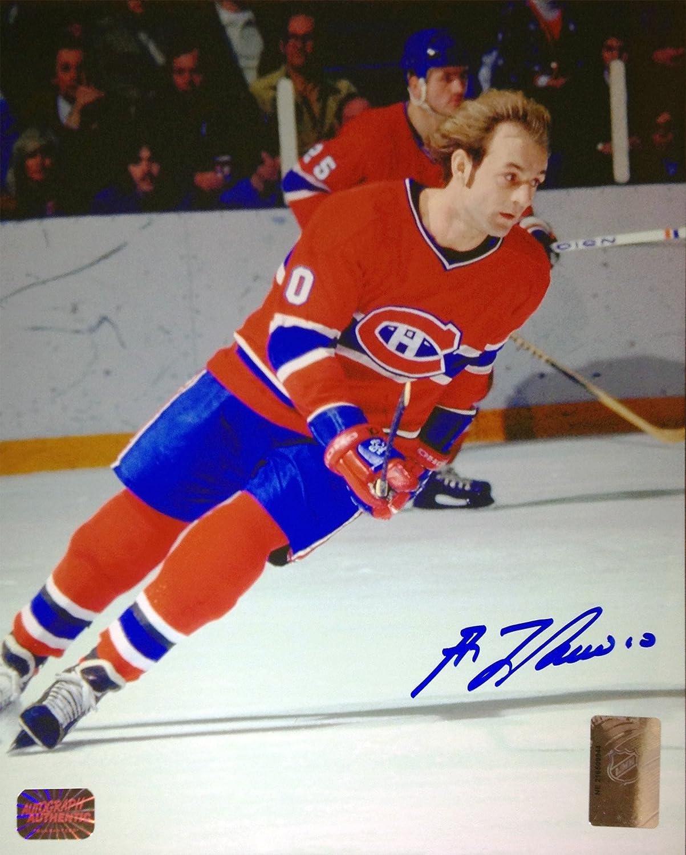 Guy Lafleur Signed 8X10 Photograph - Montreal Canadiens (Red) Autograph Authentic