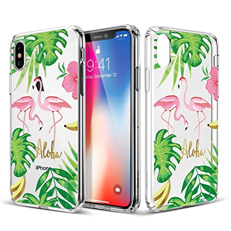 coque flamant rose iphone x