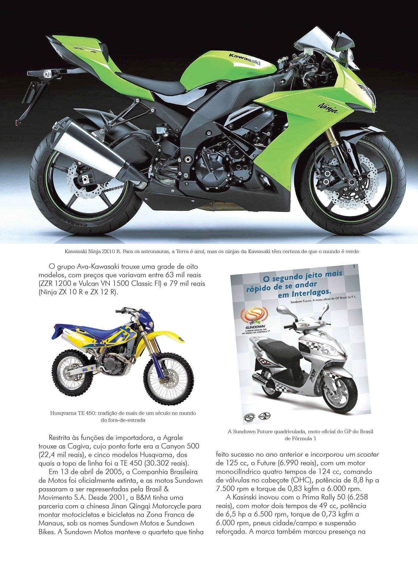 Motocicleta, A Evolucao das Maquinas Que Conquista (Em ...