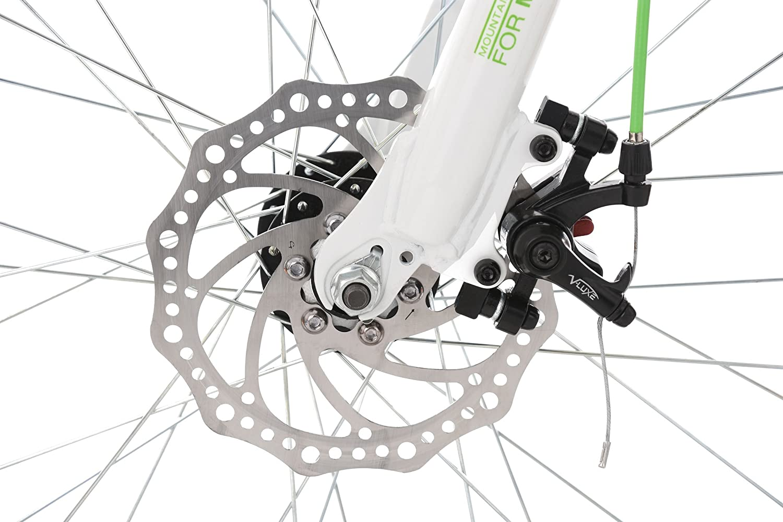 KS Cycling Jungen Mountainbike ATB Fully 24 4Masters wei/ß-gr/ün Fahrrad 24 Zoll