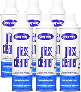 Sprayway SW050-06 Glass Cleaner, 19 oz, Pack of 6