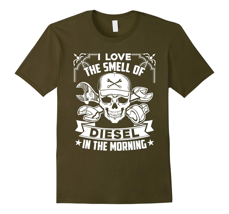 Diesel Mechanic Shirt - I Love Diesel Mechanic Tee Shirt-FL