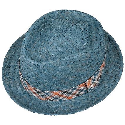 Stetson Simsbury Raffia Straw Hat Beach Summer (L (58-59 cm) - Blue)   Amazon.co.uk  Clothing 2d0989abfc49