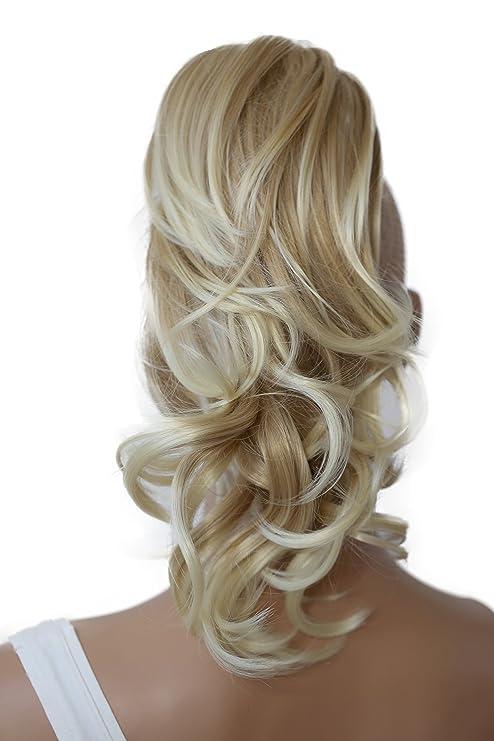 PRETTYSHOP Voluminosa corrugado peluca peluca trenza cola de caballo Cola de caballo fibra sintética 35 cm