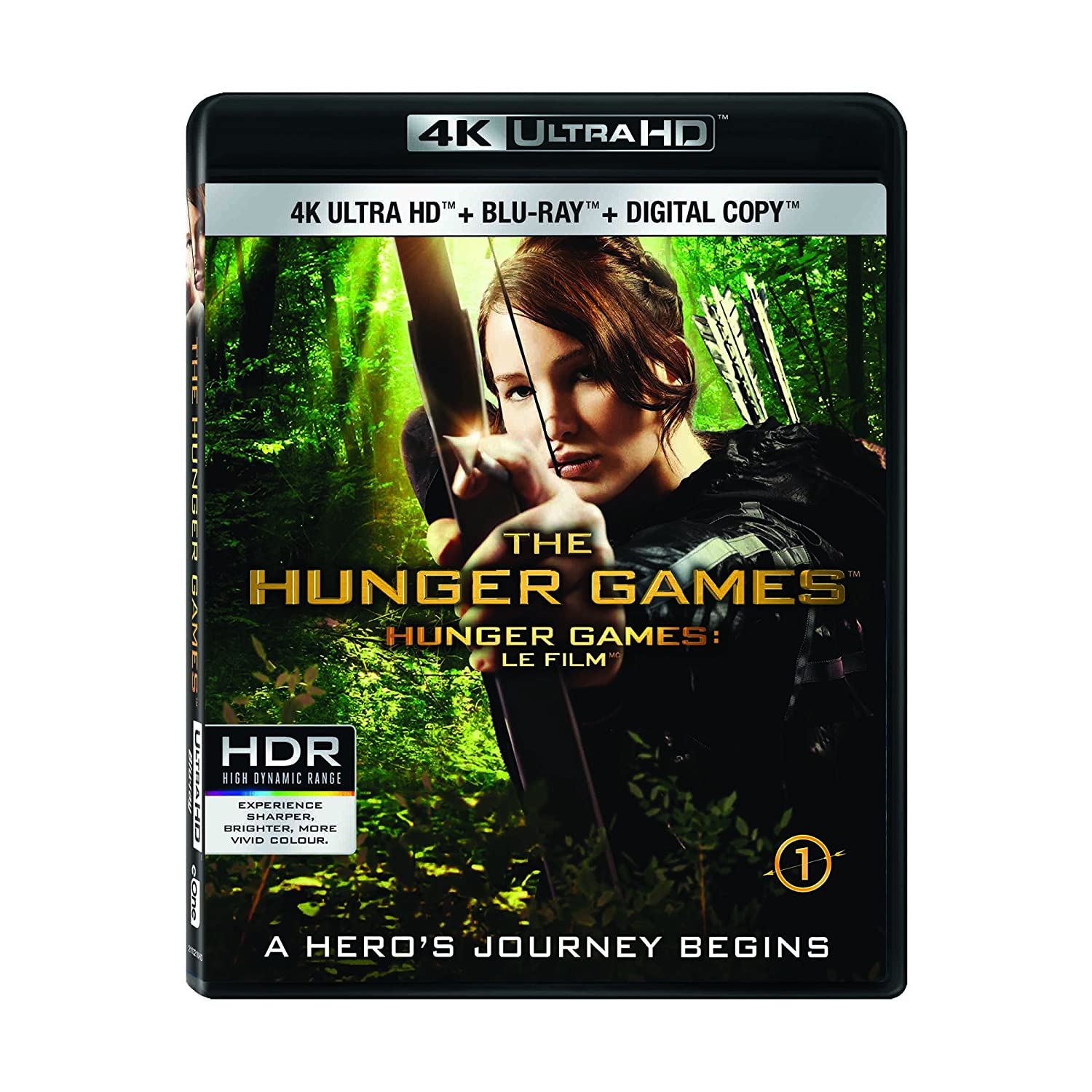 The Hunger Games [4K Ultra HD+ Blu-ray + Digital Copy] Various Lionsgate Home Entertainment Action & Adventure