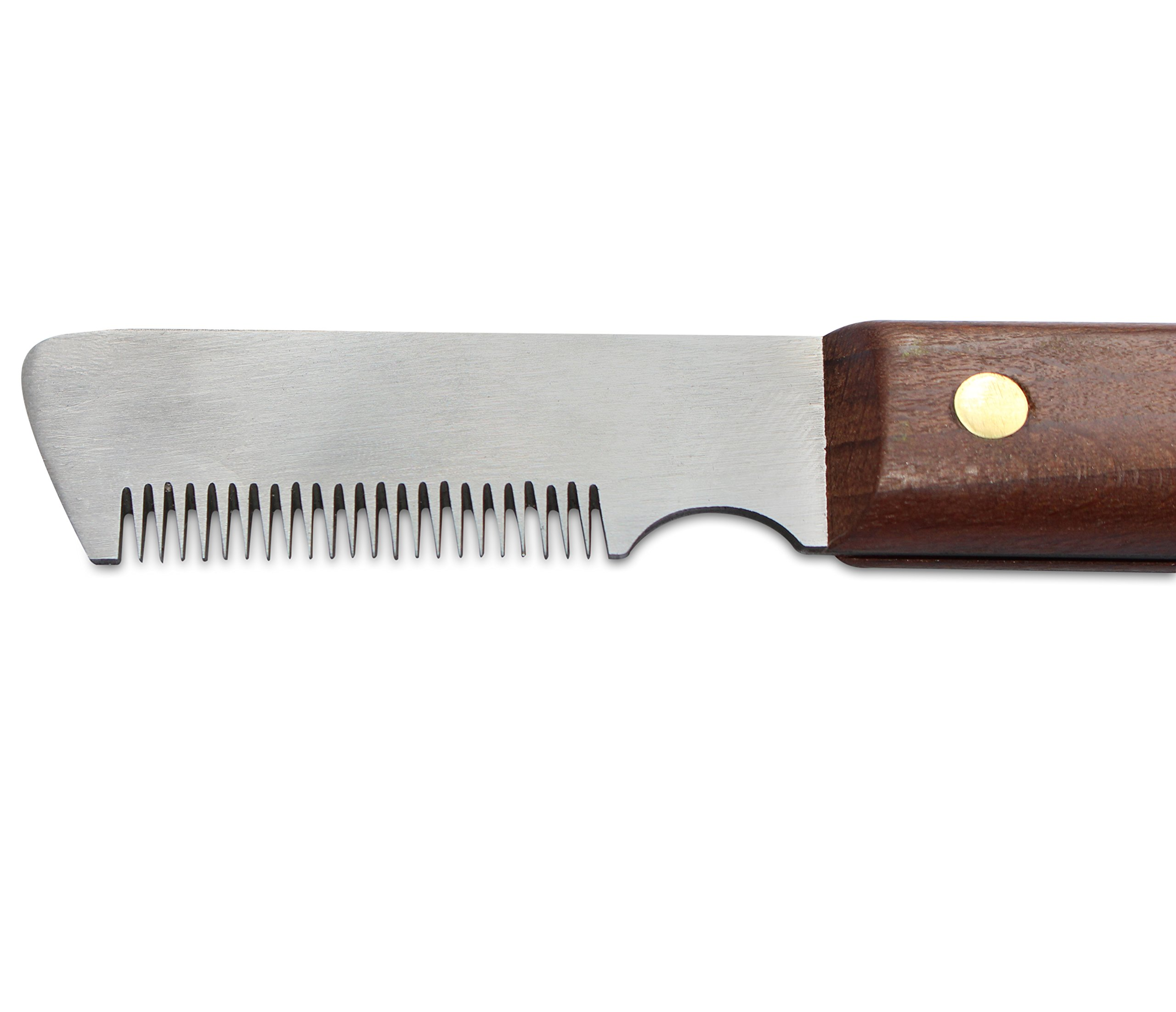 Mars Professional Dog Stripping Knife Grooming Tool, Left-Handed, for Mediun Fur by Mars Coat King (Image #2)