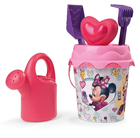 Minnie Mouse Cubo de Playa Completo Smoby 862073