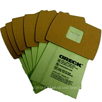 amazon com genuine oreck xl buster b canister vacuum bags genuine oreck xl buster b canister vacuum bags pkbb12dw housekeeper bag 6 pack