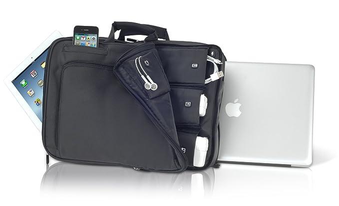 iHome Smart breve: 15 Inch portátil maletín para Mac, Negro: Amazon.es: Informática