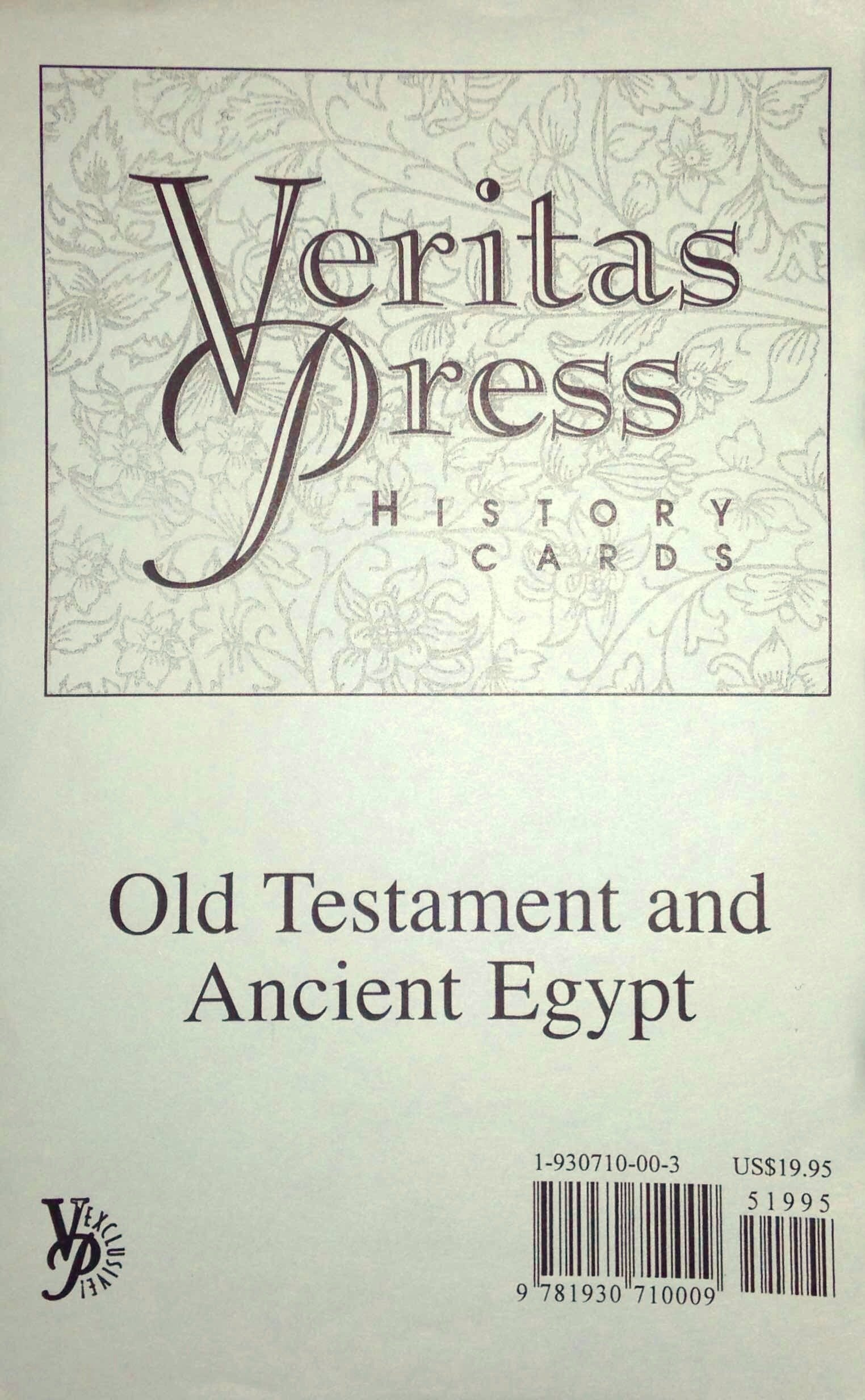 Old Testament and Ancient Egypt Flashcards