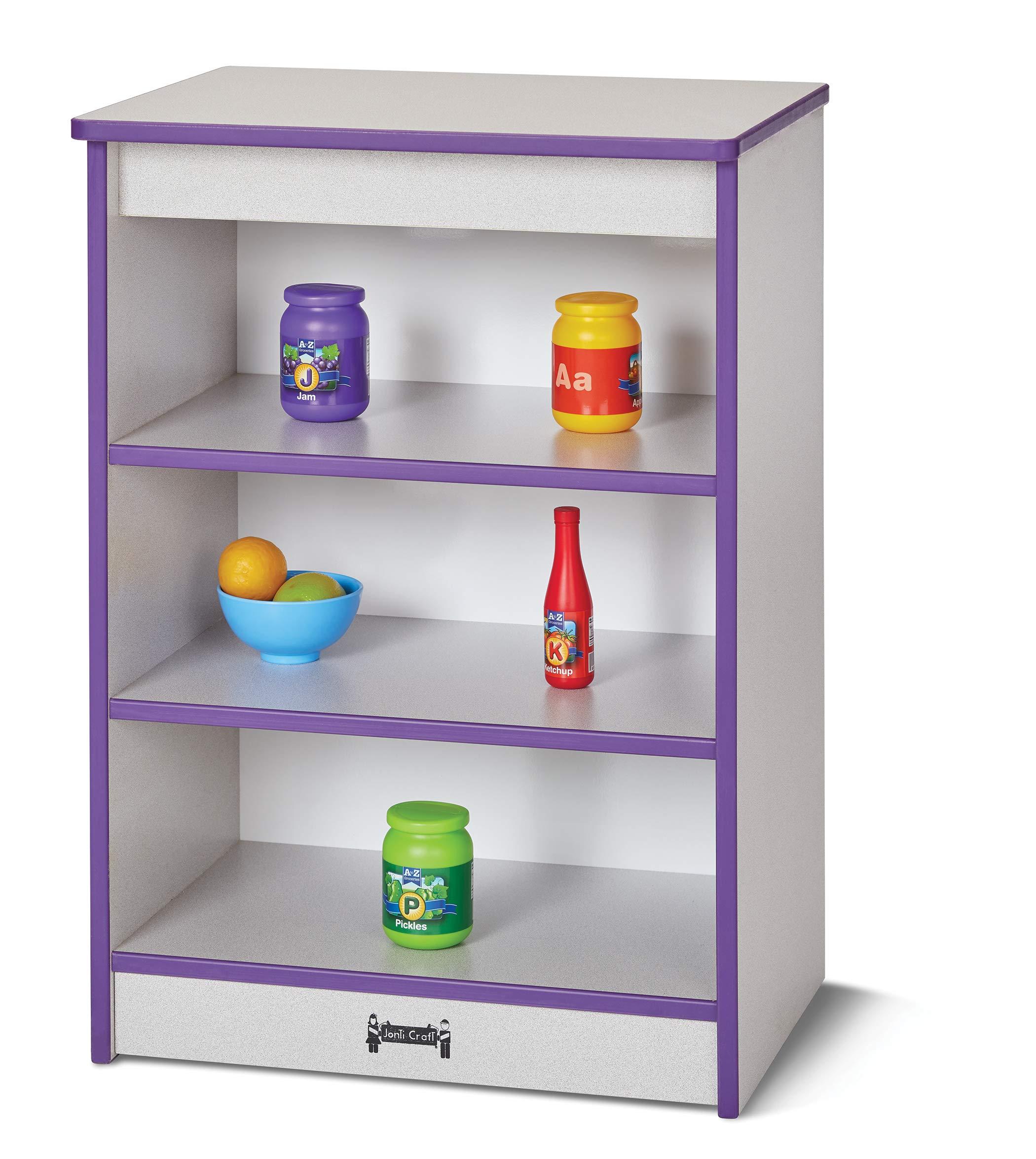 Rainbow Accents 2430JCWW119 Toddler Kitchen Refrigerator - Green