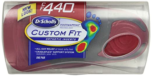 3. Dr. Scholl's Custom Fit Orthotic Inserts
