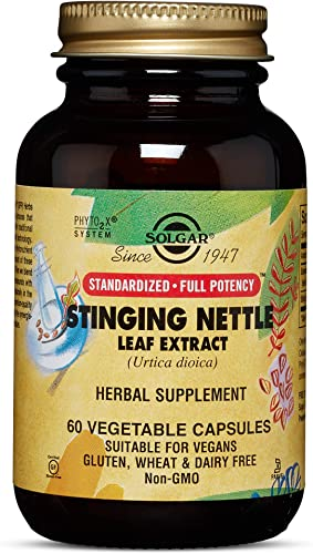 Solgar – Standardized Full Potency Stinging Nettle Leaf Extract, 60 Vegetable Capsules