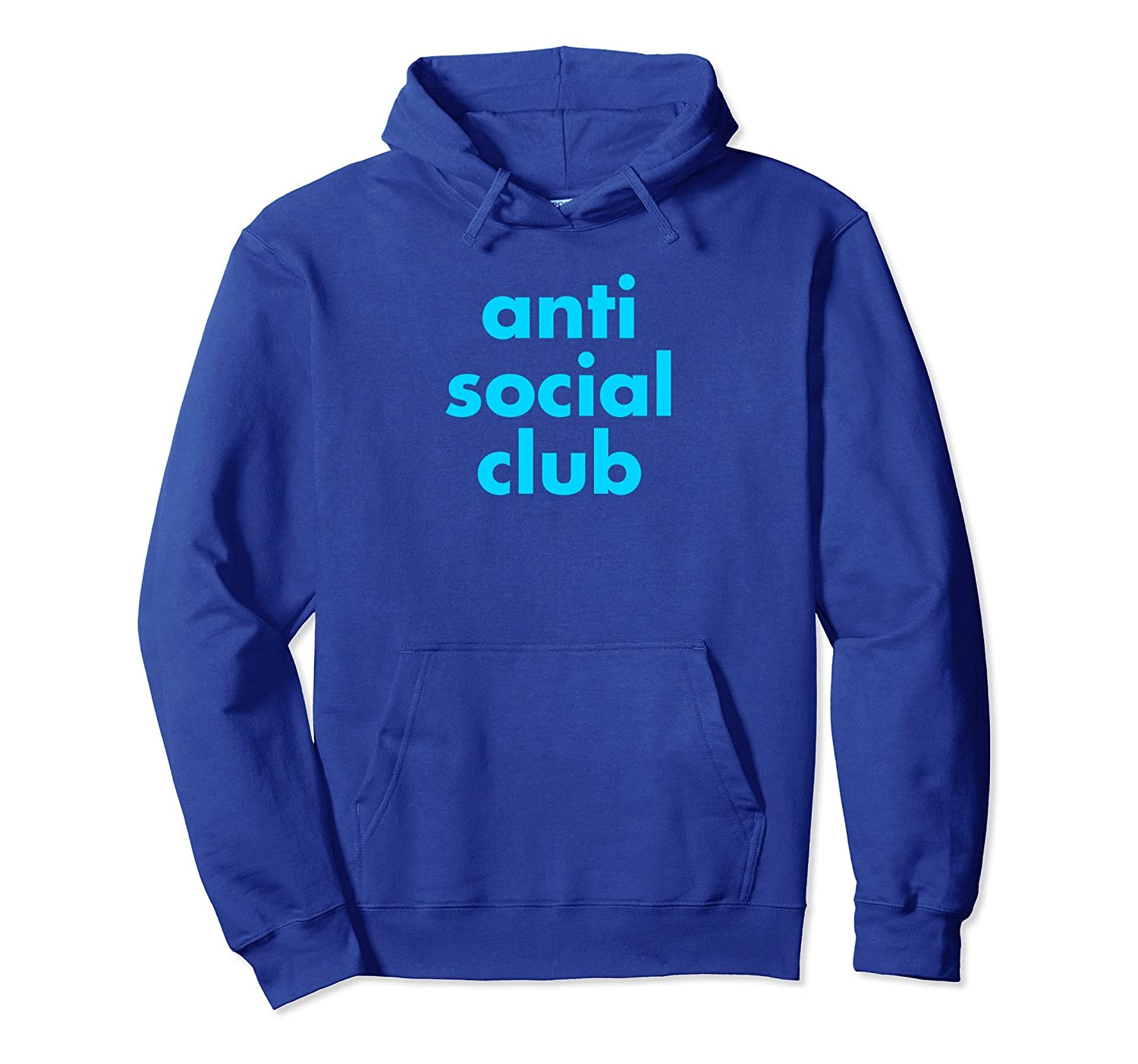 Anti Social Club Funny Pullover Hoodie-TH