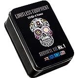 Limitless Equipment Mark 1 kit de supervivencia: Mil-Spec, realizzato nel Regno Unito, formato tascabile, livello professionale contenuto.