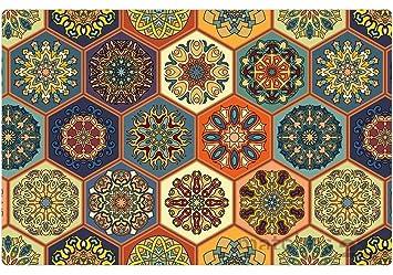 Amazon De Matches21 Orientalische Tischsets Platzsets Motiv Marokko