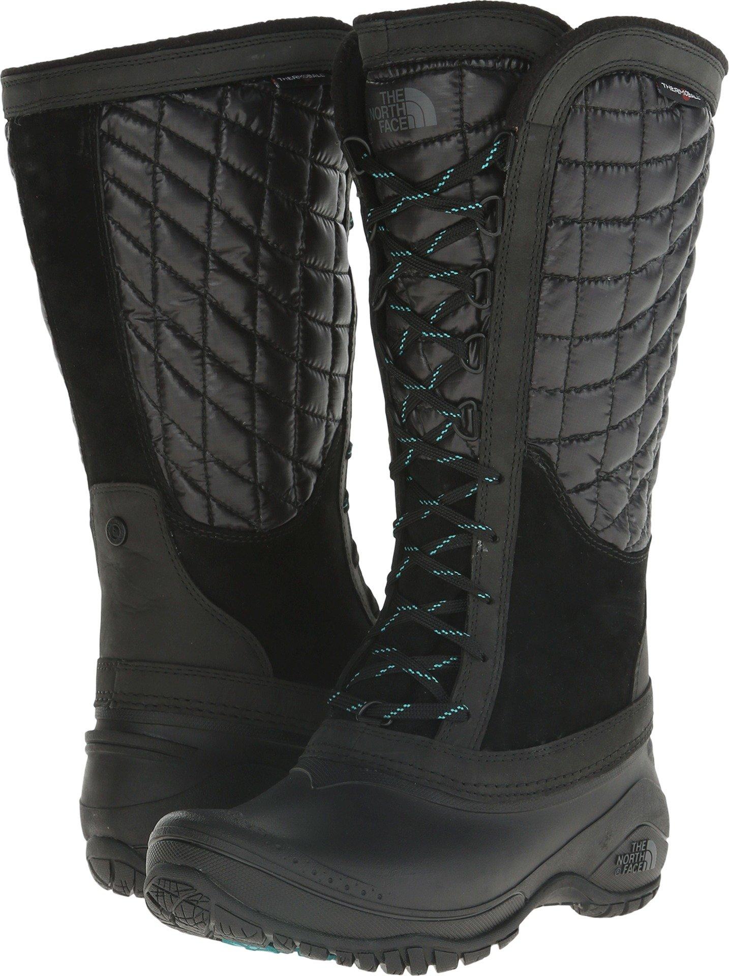 The North Face Thermoball Utility Boot Women's TNF Black/Kokomo Green 9.5