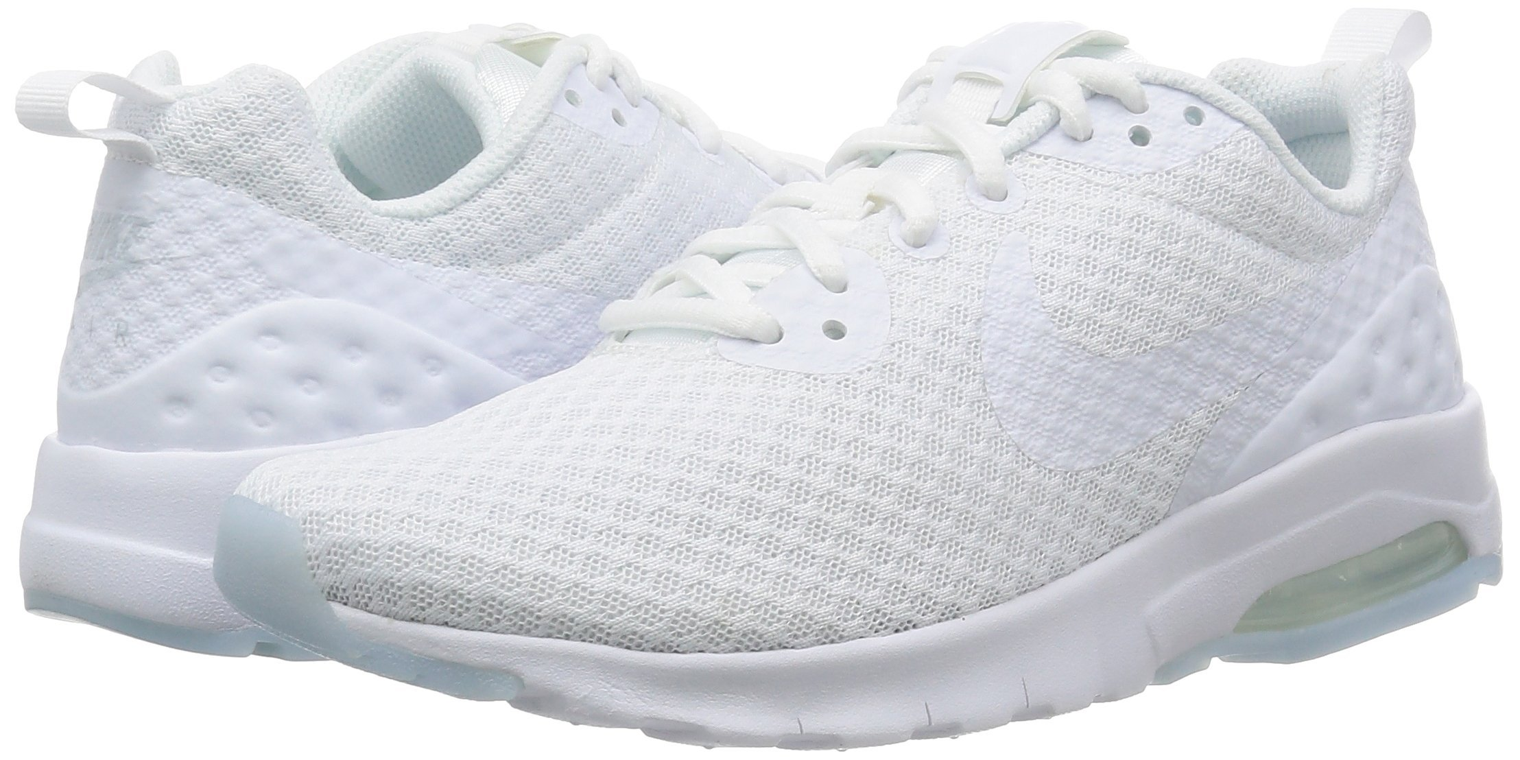 NIKE Women's Air Max Motion LW Running Shoe, White/White, 8.5 M US by NIKE (Image #5)