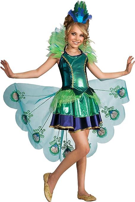 Amazon Com Peacock Costume Medium Toys Games