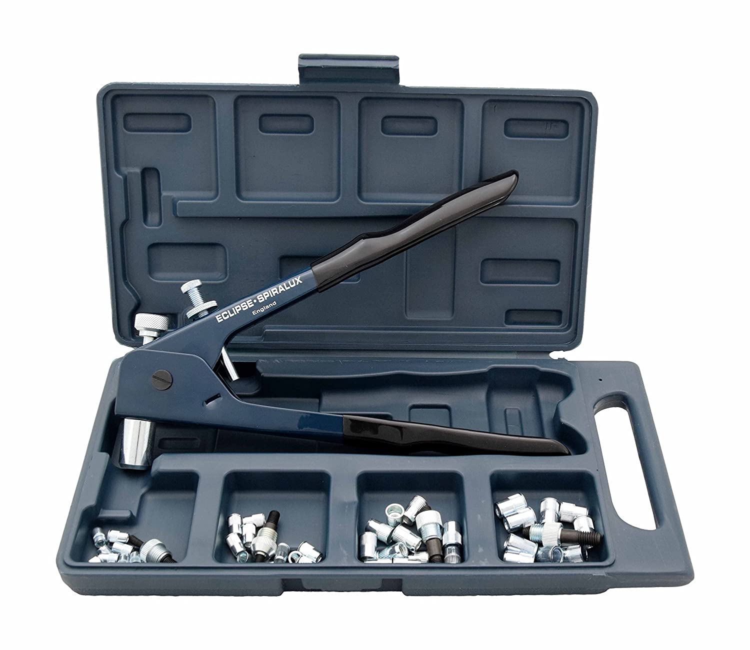 Imperial Style Eclipse 2745-01 Mild Steel Spiralux Threaded Insert Setting Tool Kit