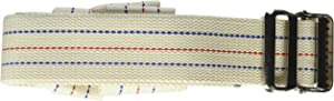 US Cargo Control Piano Moving Strap - Made From Cotton Webbing With A Slide Roller Buckle - 2 Inch Wide By 15 Feet Long