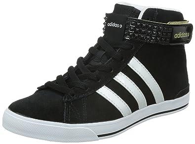 low priced 88893 c570a Adidas Daily Twist Mid noir, baskets mode femme, Noir-Blanc, 36
