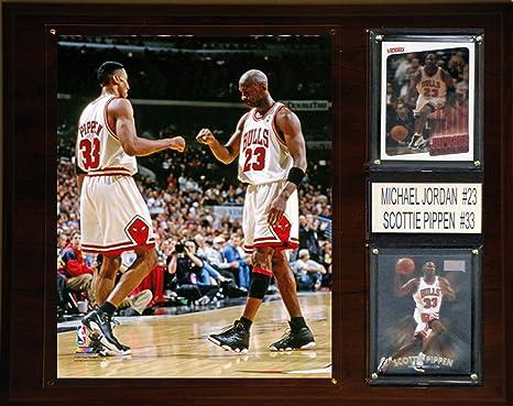 58280b6770 Image Unavailable. Image not available for. Color: NBA Chicago Bulls Michael  Jordan-Scottie Pippen ...