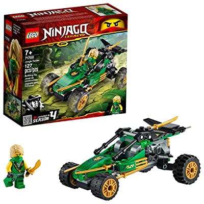 LEGO NINJAGO Legacy Jungle Raider 71700 Toy Buggy Building Kit, New 2020 (127 Pieces): Toys & Games