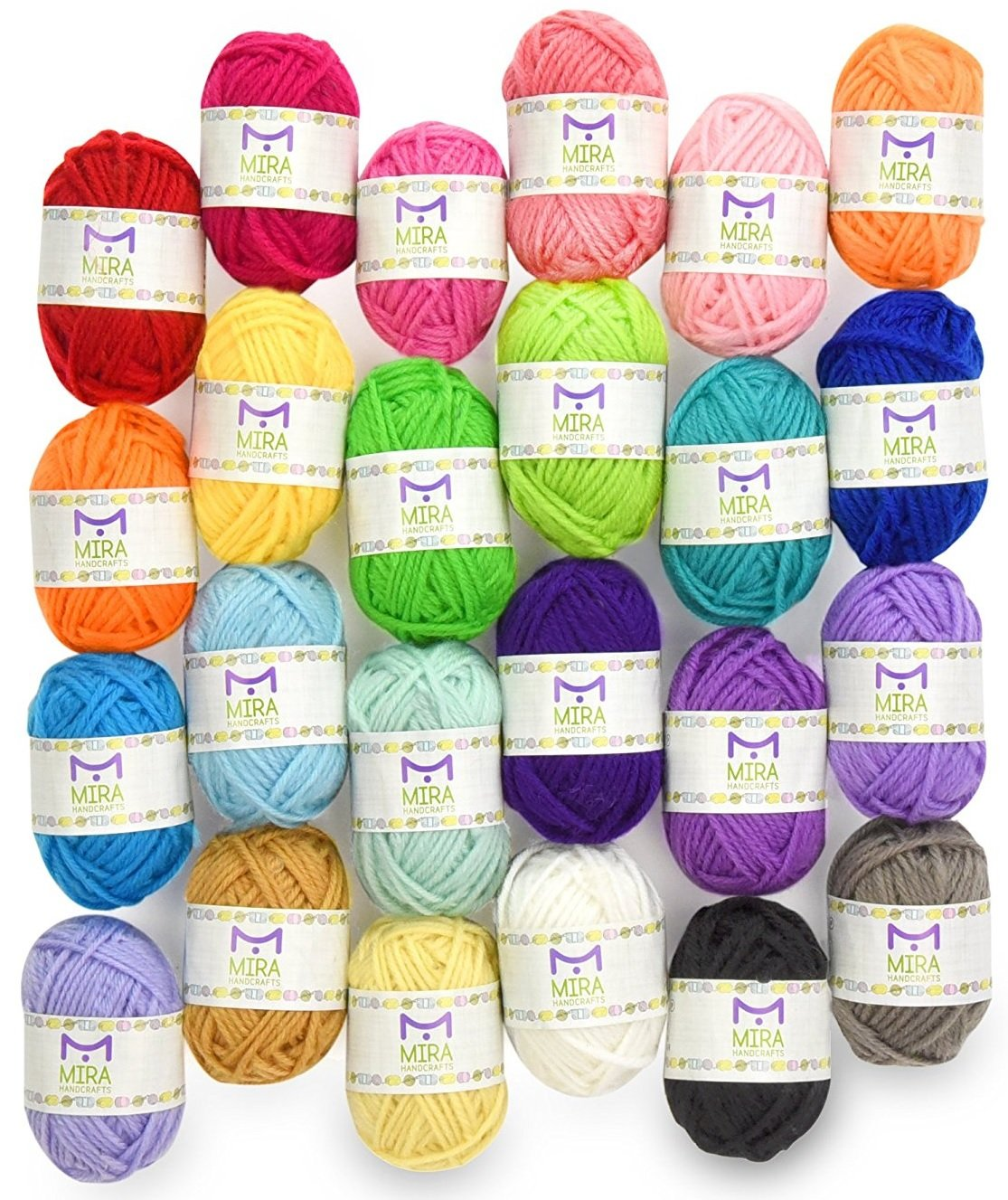 Premium Value Yarn Pack - 24 A...
