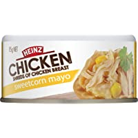 Heinz Chicken Shredded Sweetcorn and Mayo, 85g