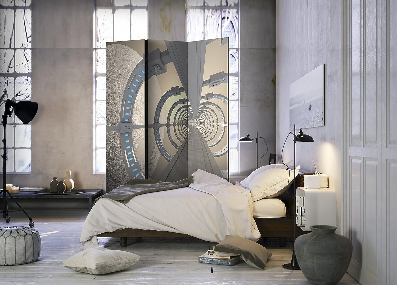 Murando Raumteiler Pinnwand Foto Paravent 3d Auf Optik 225x172 Cm
