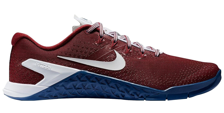 buy popular 586e9 19a9e Amazon.com   Nike Metcon 4 Americana Mens Ao1122-614 Size 10   Fitness    Cross-Training