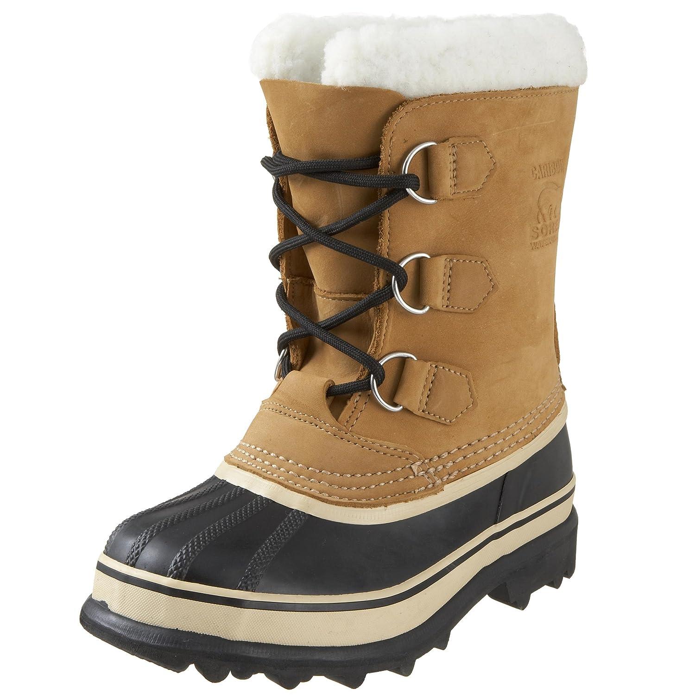 Sorel Youth Caribou botas de nieve de cuero niño