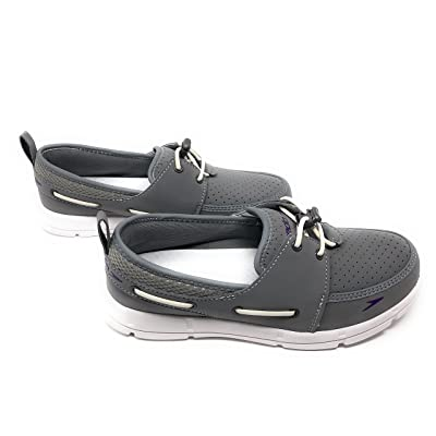 Speedo. Women's Port Lightweight Breathable Water Shoe (10, Grey) | Water Shoes