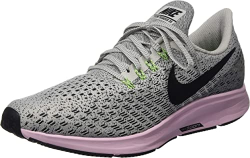 Nike Wmns Air Zoom Pegasus 35, Zapatillas de Atletismo para Mujer, Multicolor (Vast Grey/Black/Pink Foam/Lime Blast 011), 36.5 EU: Amazon.es: Zapatos y complementos