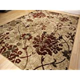 Amazon Com New City Contemporary Brown And Beige Modern