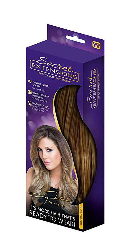 Secret Extensions By Daisy Fuentes Hair Extensions, As Seen ...