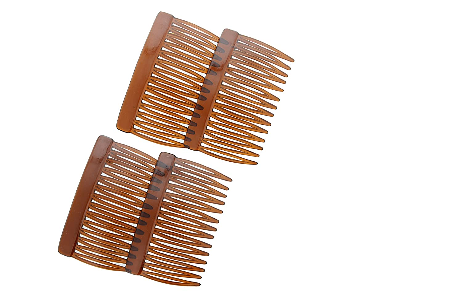 Crystal Clear Multipurpose Hair Combs - Set of Four (4) Ear Mitts