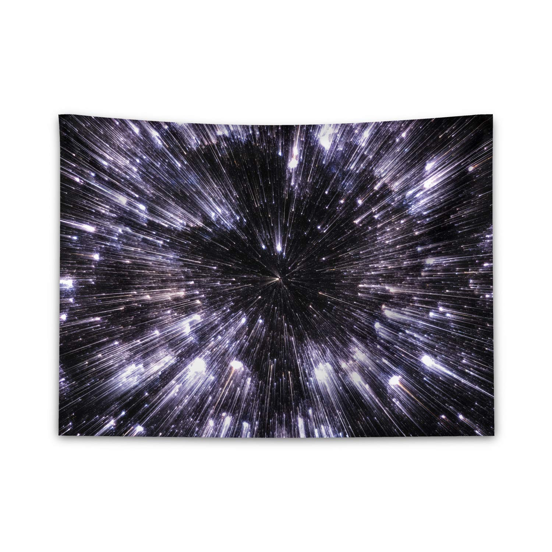 Spazio Nebula in Galassia con Il Gruppo di Stelle Arte Misterioso Astronomia Multicolore Non scivola Gi/ù dal Letto ABAKUHAUS Spazio Tappeto da Parete e Copriletto 150 x 110 cm